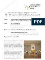 2009 IFF Seminar - Wellington, New Zealand
