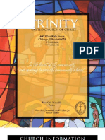 Trinity United Church of Christ Bulletin Mar 16 2008