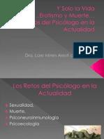 Conferencia Los Retos Del Psicologo...Ante El Desastre Actual