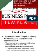 Business Plan Template Presentation