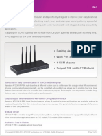 ATCOM IP4G IP PBX Appliance Datasheet