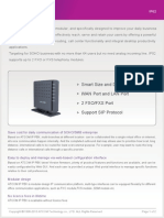 ATCOM IP02 IP PBX Appliance Datasheet