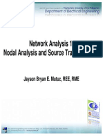 Nodal and Source Transformation