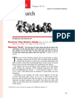 3rd Quarter 2014 Lesson 8 Teachers' Edition the Church