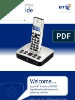 BT Freelance XD7500 Userguide