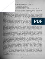 The Revised Penal Code Brief Review by Prof. Francisco Capistrano
