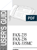 Brother Fax 236 User Manual