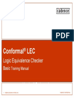 Conformal Lec Training Basic Advance