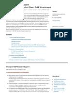 Standard Support Scope Description