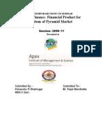40 Himanshu Bhatnagar - Micro Finance- Financial Product for Bottom of Pyramid Market