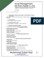 Fm Formulas
