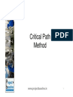 Critical Path Method - R1