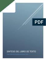 Sintesis Del Libro de Texto Hugo Escalante 3411