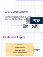 Distributed Systems - RPC and RMI