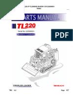 Parts Manual Tl220 Bu0z001