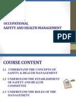 UNIT 2- OSH Management System