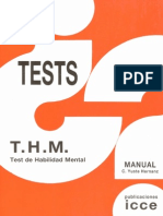THM Test de Habilidad Mental (Manual)