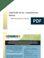 Desarrollo de las competencias básicas