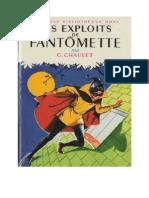 Fantomette 1 Les Exploits de Fantomette Georges Chaulet 1961