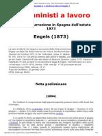 MIA - Engels_ I Bakuninisti a Lavoro - Note Sull'Insurrezione in Spagna Dell'Estate 1873