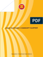 Asean Economic Blue Print