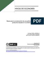 Bases Para La Construcción de Una Política de Desarrollo