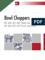 IFOOMA en Bowl Choppers
