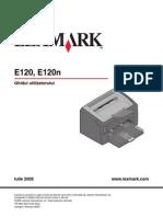 Ghid E120 Lexmark