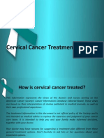 Cervical Cancer Treatment Options