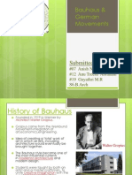 Bauhaus and German Movements PPT SBMISN (1)
