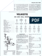 Velocette 350 - 500 Manual