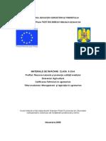 Management Si Legislatie in Agroturism