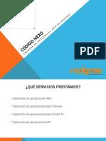Código Nexo, Empresa de Desarrollo Web en Granada