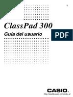 Guia de La Calculadora Class Pad 300