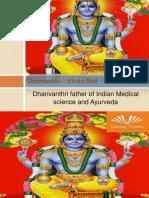 Dhanvantari – Hindu God