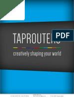 TapRouters Company Profile