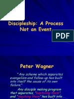 Discipleship is a Process Not an Event
