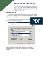 51694814 Instalarea Si Configurarea Unui Server DNS Pe Windows Server 2003