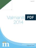 Valmanifest Aug 2014