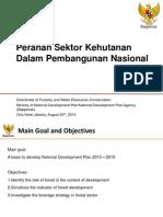 Peranan Sektor Kehutanan dalam Pembangunan Nasional