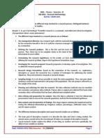 MB0050- Research Methodology