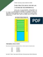 Ejercicio - Instrucciones de Transferencia