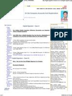 Digital Signature Providers for Income Tax, Etenders, Mca 21,Esi and Pf