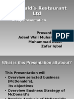 McDonald's Presentation