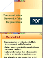 communication network of an organization