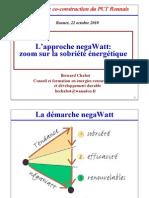 Bernard Chabot - négaWatt et sobriété énergétique