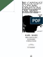 Pre-Capitalist Economic Formations - Karl Marx, Ed. Eric Hobwbawm
