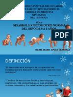 Desarrollo Del Niño 0-2 Años