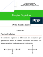 Quimica III - Funções Orgânicas