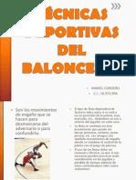 Técnicas Deportivas Del Baloncesto